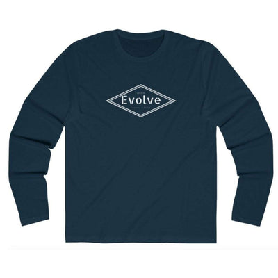 EvolveTravelGoods Diamond Long Sleeve Organic Tee