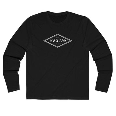 EvolveTravelGoods xs / carbon Diamond Long Sleeve Organic Tee