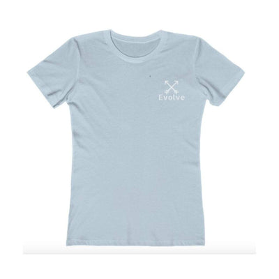 EvolveTravelGoods Go Wander Ladies Fitted Organic Tee
