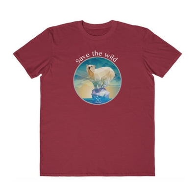 EvolveTravelGoods Polar Bear - Save the Wild Organic Tee