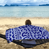 EvolveTravelGoods Sand Free Travel Beach Towel Tahiti