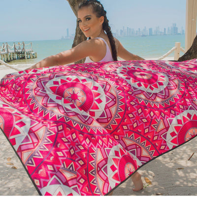 EvolveTravelGoods Sand Free Travel Beach Towel Tenerife