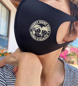 YAYA & KUKU NEOPRENE SCUBA FABRIC FACE MASK