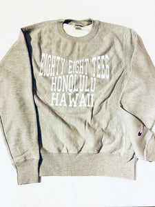 UNISEX CHAMPION EIGHTY EIGHT HAWAII SWEATER