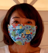 Load image into Gallery viewer, YAYA FAMILY ALOHA FABRIC FACE MASK