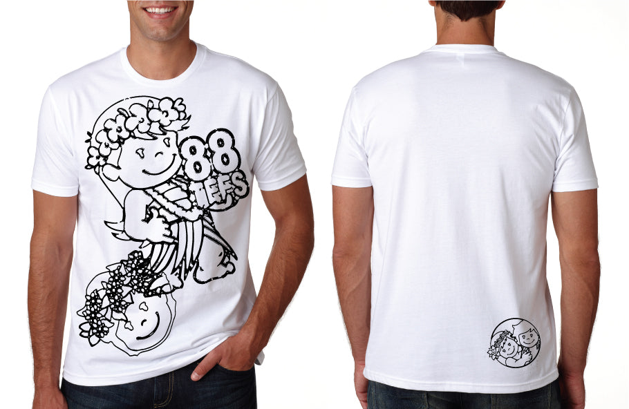 MENS YAYA & KUKU SKETCH TEE