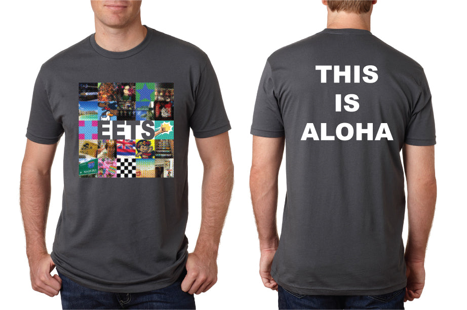 MENS THIS IS ALOHA TEE