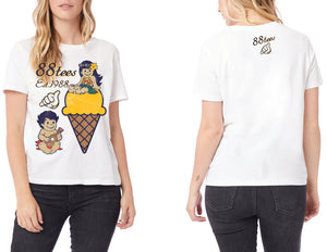 WOMENS YAYA KUKU ICE CREAM DATE TEE