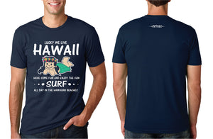 MENS WE LIVE HAWAII TEE