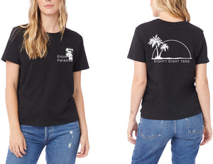 WOMENS ENJOY PARADISE TEE
