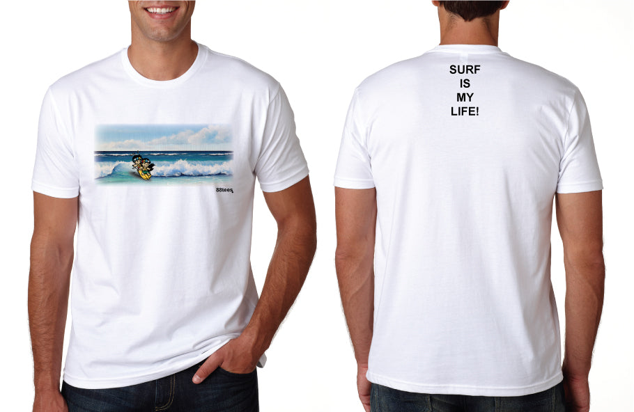 MENS SURF IS MY LIFE TEE