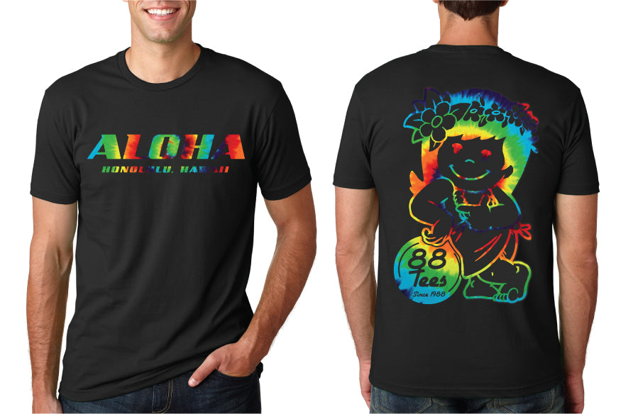 MENS RAINBOW LAID BACK YAYA TEE