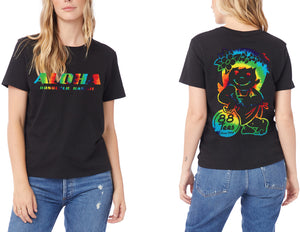 WOMENS RAINBOW LAID BACK YAYA TEE