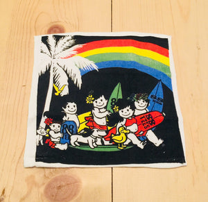 RAINBOW IN THE DARK FACE TOWEL
