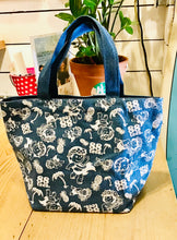 Load image into Gallery viewer, YAYA ALL OVER DENIM TOTE BAG