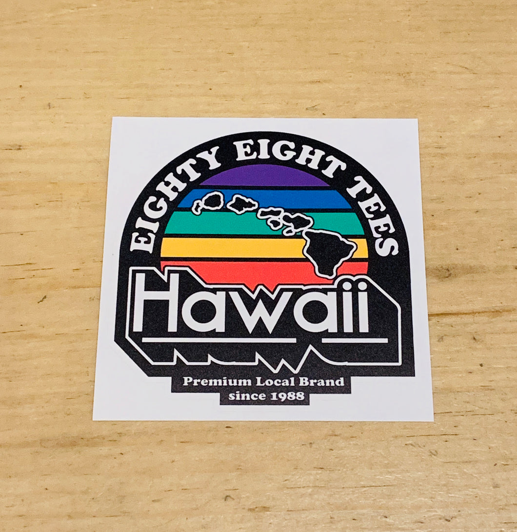 HAWAII PREMIUM LOCAL BRAND STICKER
