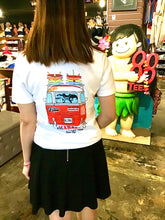Load image into Gallery viewer, WOMENS VOLKSWAGEN X 88TEES RED BUS TEE