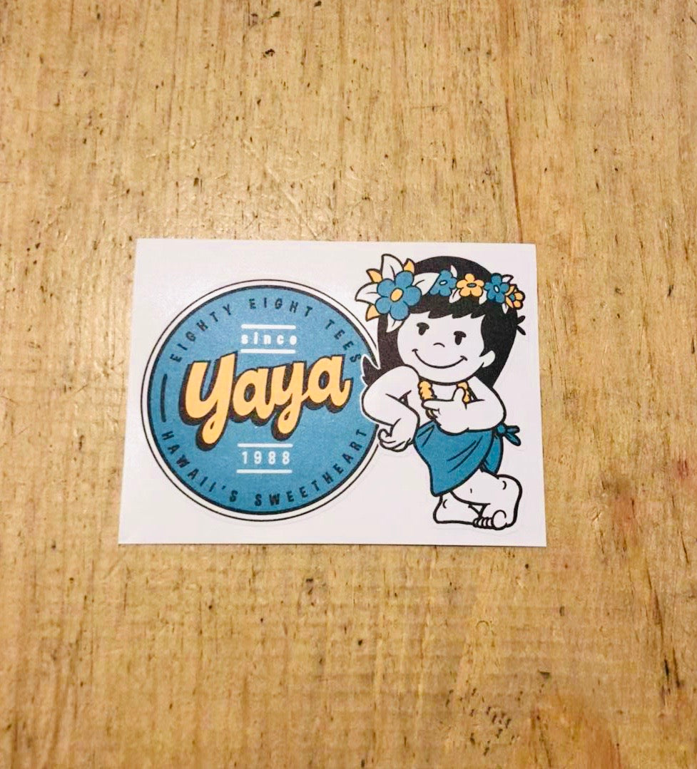 SWEETHEART YAYA STICKER