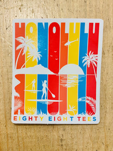 HONOLULU LIFE STICKER