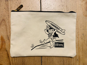 SURFING YAYA ZIPPER POUCH