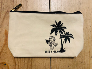 HULA YAYA GIRL ZIPPER POUCH