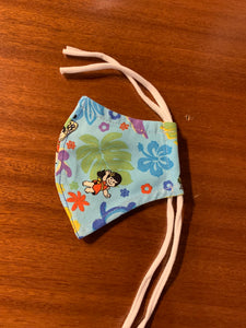 YAYA FAMILY ALOHA FABRIC FACE MASK