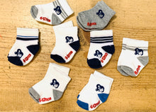 Load image into Gallery viewer, INFANTS YAYA FACE CREW LENGTH SOCKS SET