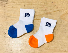 Load image into Gallery viewer, TODDLERS YAYA FACE CREW LENGTH SOCKS SET