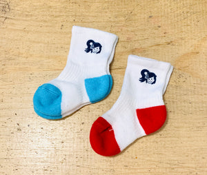 TODDLERS YAYA FACE CREW LENGTH SOCKS SET