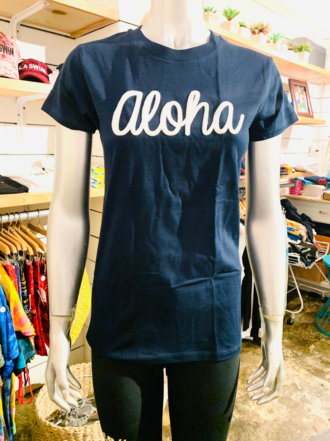 WOMENS ALOHA & 88TEES PATCH TEE