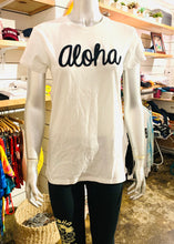 Load image into Gallery viewer, WOMENS ALOHA & 88TEES PATCH TEE