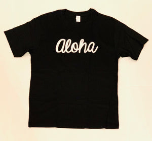 MENS ALOHA & 88TEES PATCH TEE