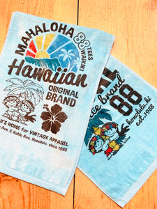 MAHALOHA HAWAIIAN SPORTS TOWEL
