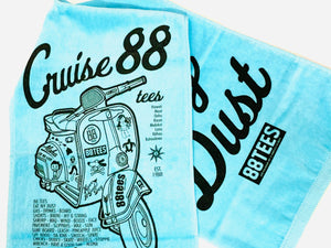 CRUISE.. EAT MY DUST SPORTS TOWEL
