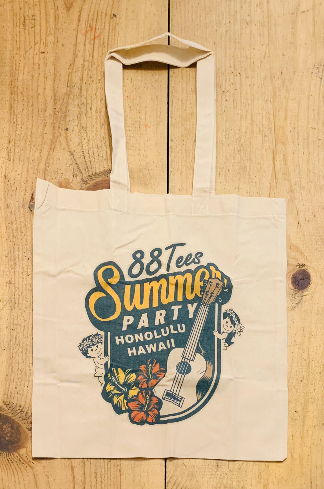 SUMMER PARTY CANVAS TOTE BAG