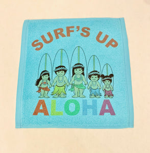SURF'S UP WITH THE OHANA FACE TOWEL