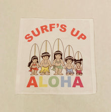 Load image into Gallery viewer, SURF'S UP WITH THE OHANA FACE TOWEL