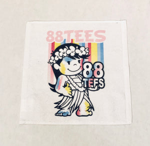 PASTEL STRIPES YAYA FACE TOWEL