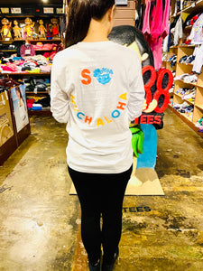 UNISEX SO MUCH ALOHA LONGSLEEVE TEE