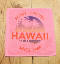 Load image into Gallery viewer, SUNSET IN HAWAII SINCE 1988 FACE TOWEL