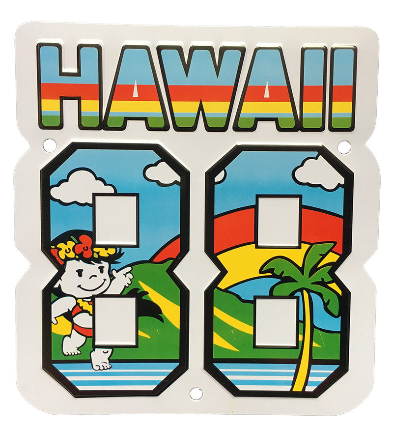 HAWAII 88TEES CL LICENSE PLATE
