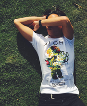 Load image into Gallery viewer, MENS YAYA FLORAL SILHOUETTE TEE