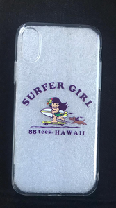 SURFER GIRL YAYA iPHONE CASE