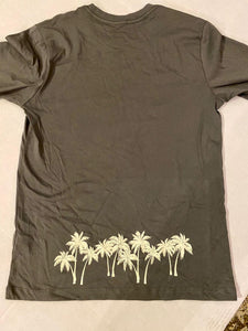 MENS PALM TREE HAWAII TEE