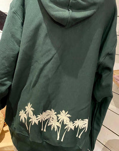 UNISEX CHAMPION PALM TREE HAWAII PULLOVER HOODIE