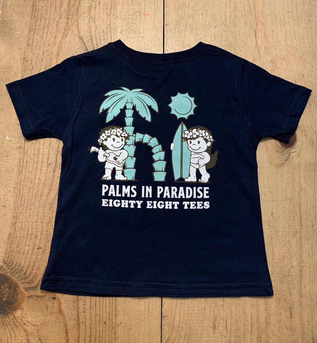KIDS PALMS IN PARADISE TEE