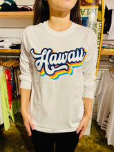 Load image into Gallery viewer, UNISEX HAWAII LONGSLEEVE TEE