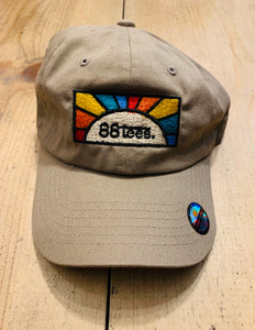UNISEX EMBROIDERED RAINBOW SHINE BASEBALL CAP