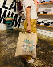 Load image into Gallery viewer, PALMS IN PARADISE TOTE BAG