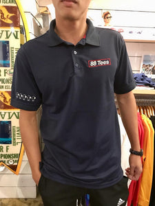 MENS EMBROIDERY RED YAYA POLO SHIRT